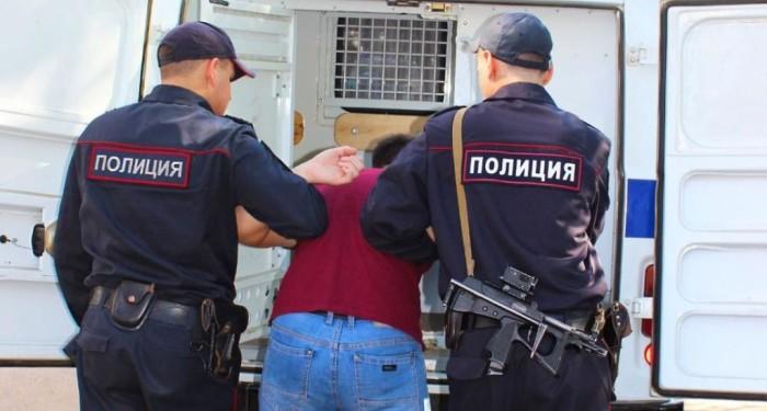 Работа полицейских