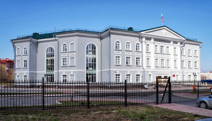 Внешний вид здания суда