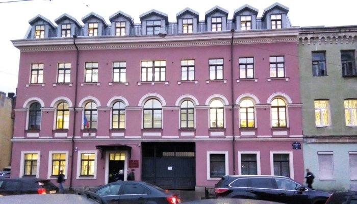 Отдел судопроизводства находится в этом здании