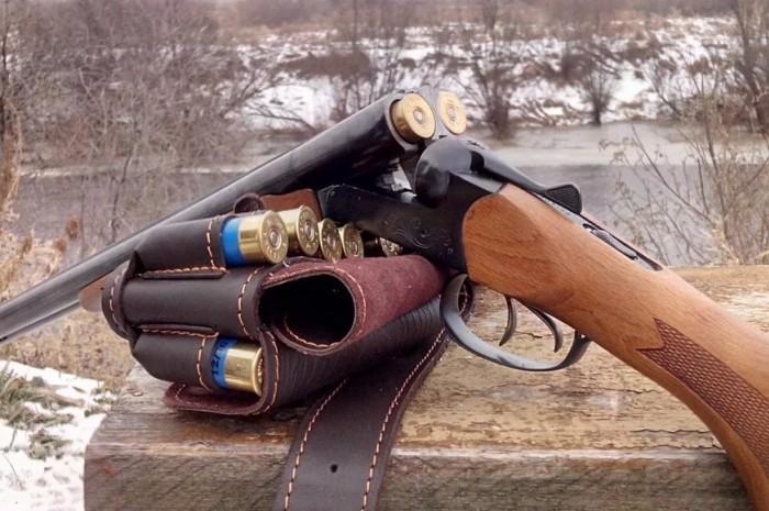 Двуствольное ружье